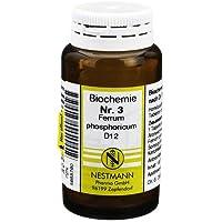 BIOCHEMIE 3 Ferrum phosphoricum D 12 Tabletten 100 St Tabletten preisvergleich bei billige-tabletten.eu