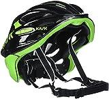 Kask Mojito 16 - Casco para bicicleta - Mixto para adultos, Multicolor (Black/Lime), L (59-62 cm)