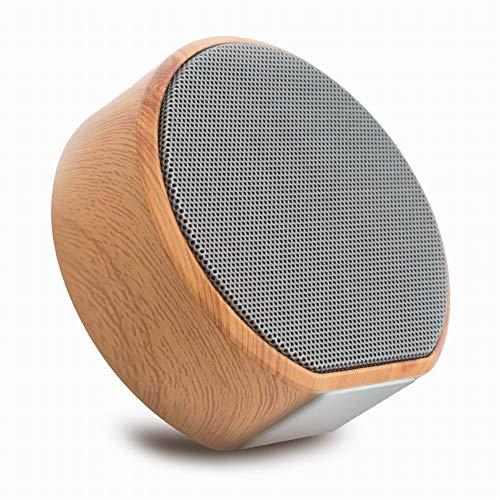 lymty Tragbare drahtlose Bluetooth-Lautsprecher Mini-Bass-Lautsprecher FM-Radio TF-Karte Aux-Freisprecheinrichtung (Fm-radio-basslautsprecher)