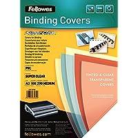 Fellowes 53764 Copertine per Rilegatura in PVC Trasparente, Formato A3, 200 Micron, Confezione da 100 Pezzi -  Confronta prezzi e modelli