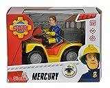 Simba 109257657 - Feuerwehrmann Sam Mercury-Quad mit Figur und Zubehör Vergleich