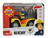 Simba 109257657 - Feuerwehrmann Sam Mercury-Quad mit Figur und Zubehör für Simba 109257657 - Feuerwehrmann Sam Mercury-Quad mit Figur und Zubehör