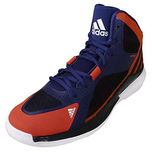 Basketball Strike Schuhe Blau rot Adidas Blau Crazy Turnschuhe Trainers xqIw65