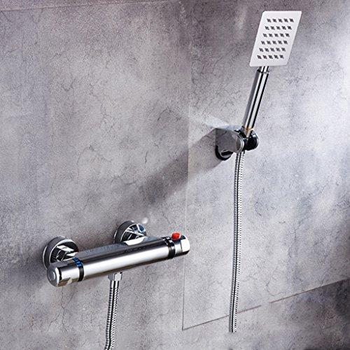 Preisvergleich Produktbild Einfache Dusche Badewanne mit Dusche Bad unter Druck Duschkopf Dusche TIAMO Home Store