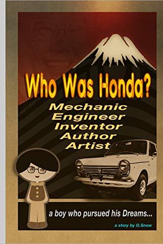 Who Was Honda?: A boy who pursued his dream -