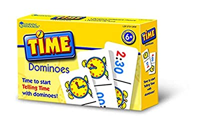 Learning Resources Time Dominoes from Learning Resources (UK Direct Account)