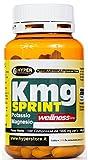 Magnesio Potassio Integratore | 100 compresse | Energetico contro stanchezza | Integratore combatte l'affaticamento | Pronto Recupero | KMG sprint Hyper