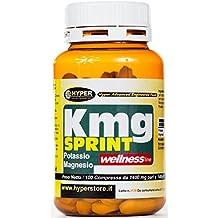 Suplemento de potasio y magnesio | 1 paquete x 100 tabletas | Energía contra la fatiga