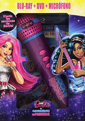 Barbie En El Campamento De Princesas (BD Combo + Micrófono) [Blu-ray] 51vpMW0KYBL