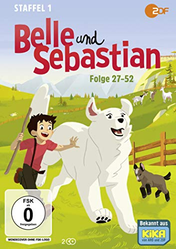 Belle und Sebastian - Staffel 1 - Folge 27-52 [2 DVDs]