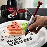 Silikon Spritzbeutel Düse Schokolade Teller Pen für Kuchen Cookie Gebäck Dekorieren Cake Decoration Pen