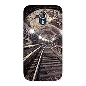 Stylish Track in Tunnel Back Case Cover for Micromax Canvas Magnus A117