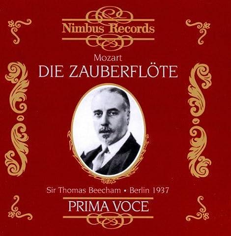 Mozart: Die Zauberflote (The Magic Flute - Prima Voce Series)