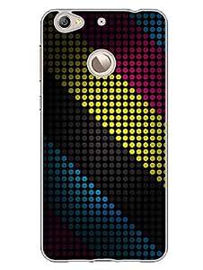 LetV 1S Back Cover - Colorfull Dots - Pop Art - Multicolor - Designer Printed Hard Shell Case