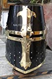 KNIGHT TEMPLAR CRUSADER ARMOUR HELMET BY NAUTICALMART