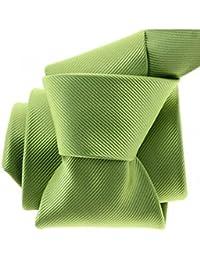 Clj Charles Le Jeune - Cravate Clj, Menton , Vert Anis