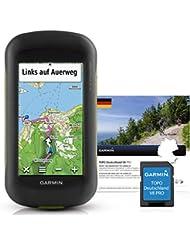 Garmin Montana 610 Outdoor-Navigationsgerät mit TOPO Deutschland V8 PRO, hochauflösendem 4'' Touchscreen-Display und ANT+ Konnektivität
