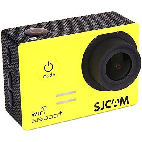 Cámara deportiva SJCAM SJ5000 Plus Ambarella. Wifi. Color Amarillo