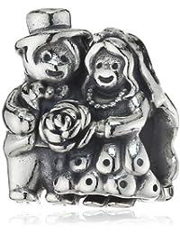 Pandora Damen-Charm 925 Sterling Silber Braut und Bräutigam 791116