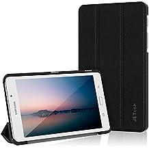 "JETech Funda para Samsung Galaxy Tab A 7.0"" (SM-T280/T285) Case Carcasa con Stand Función (Negro) - 3602"