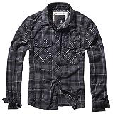 Brandit Check Shirt Grau/Schwarz/Weiß 4XL