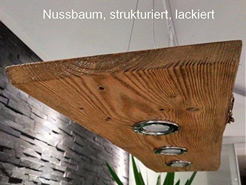 Deckenlampe Hängelampe Pendelleuchte Holz mit LED´s GU10