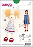 Burda B6824 - Patrón de costura para muñeca