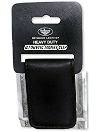 Holboro Genuine Leather Magnetic Money Clip Cash/ Card Holder Wallet
