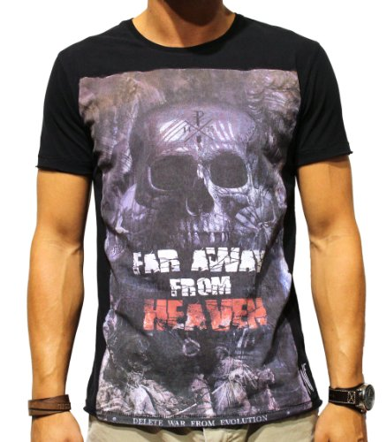 Herren T-Shirt, Far Away from Heaven, black, NF-12-015, GR M