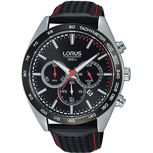 LORUS- QUARTZ CHRONOGRAPH GENTS STRAP WATCH