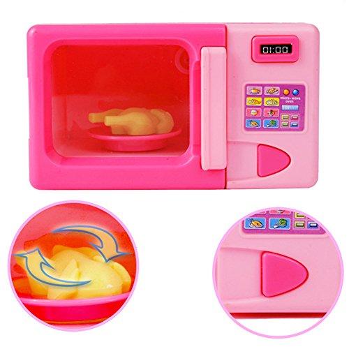 MAJGLGE - Juguete microondas portátil niños niñas