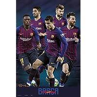 Poster FC Barcelona 2018/2019 Grupo