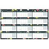 Boxclever Press Calendar 2019-2020 Academic Wall Planner. Block Format Runs from Aug'19 - July'20. Includes All Main UK Dates and Holidays. A Perfect mid-Year 2019-2020 Calendar. Non-Laminated.