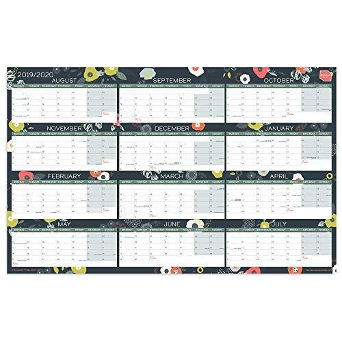 Calendario Planificador de Pared Acádemico 2019/2020 de Boxclever Press. Organizador para el...