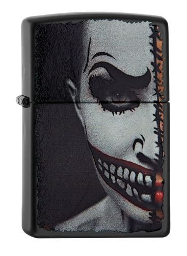 Zippo 60.001.967 Feuerzeug Clown Scary Collection Spring 2016, schwarz ()