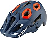 bluegrass Golden Eyes All Mountain Helm Petrol Blue/orange Kopfumfang S 2018 Fahrradhelm