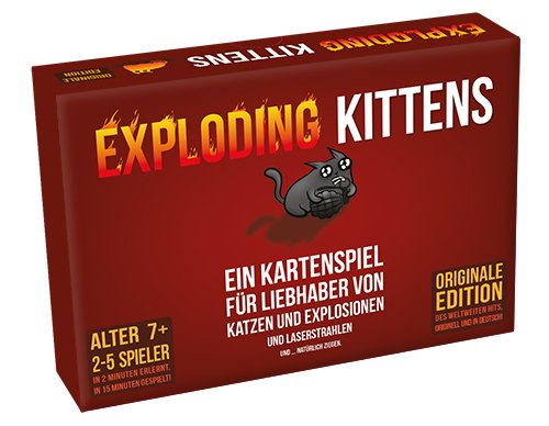 Asmodee ASMD0007 Exploding Kittens