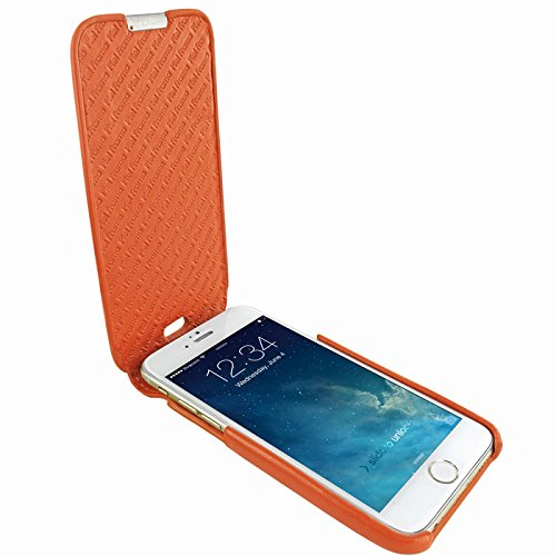 Piel Frama 685W iMagnum Etui rigide pour iPhone 6 Plus Blanc orange