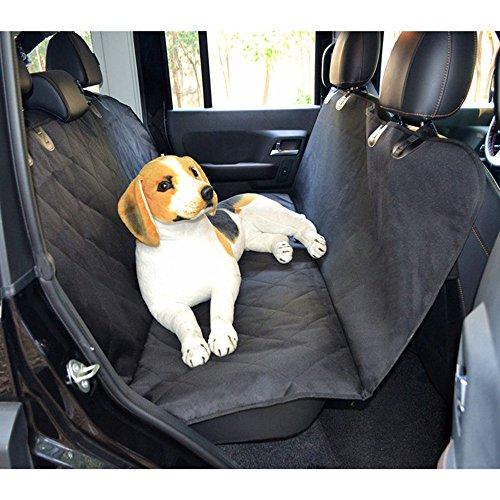 Anself Hunde Autoschondecke Wasserdicht Hängematte Auto Sitzabdeckung für Auto Van SUV 147x137cm