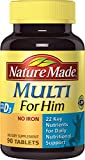 Nature Made Multi For Him Vitamin and Mineral - Best Reviews Guide