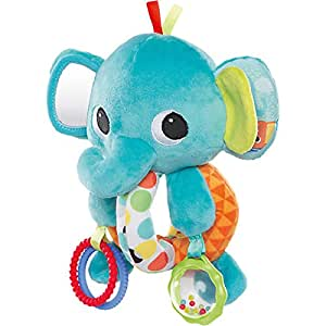 Bright Starts Explore and Cuddle Elephant Toy