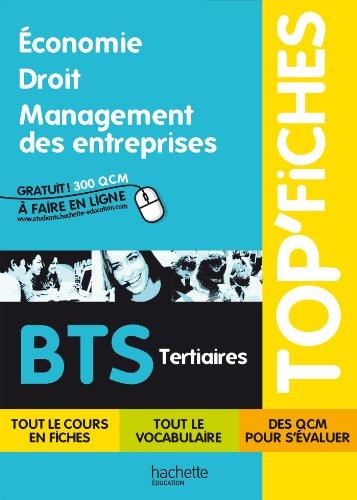 Top'Fiches - conomie, Droit, Management des entreprises BTS