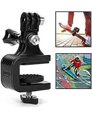 SJPZWCRL Soporte de cámara rotatorio para monopatín, para GoPro Xiaoyi y Otras cámaras de acción (Skateboard Camera Mount)