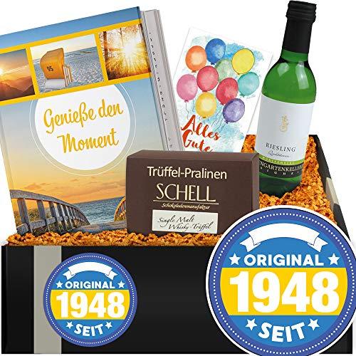 Original seit 1948 | Geschenkbox Wein | Geburtstagsgeschenk