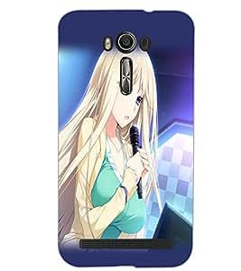 ASUS ZENFONE 2 LASER ZE500KL BEAUTIFUL GIRL Back Cover by PRINTSWAG