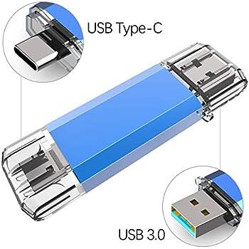 Kootion Memoria USB OTG 64GB 3.0 Tipo C 2 en 1 USB Flash Drive Stick Pendrive Doble para Móviles, Tablet, PC, MacBook, Android (Huawei, Xiaomi, Honor, ...