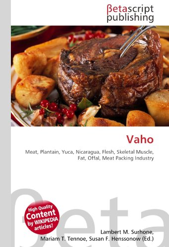 Vaho: Meat, Plantain, Yuca, Nicaragua, Flesh, Skeletal Muscle, Fat, Offal, Meat Packing Industry