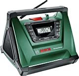 Bosch PRA Multi Power Cordless Portable Radio (Without Battery and Charger)
