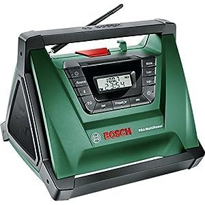 Radio Pra MultiPower Bosch, inalámbrica, portátil (sin batería y cargador)