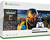 Pack Xbox One S 1 To Anthem + 1 mois EA Access + 1 mois de Xbox Live Gold + 1 mois de Game Pass